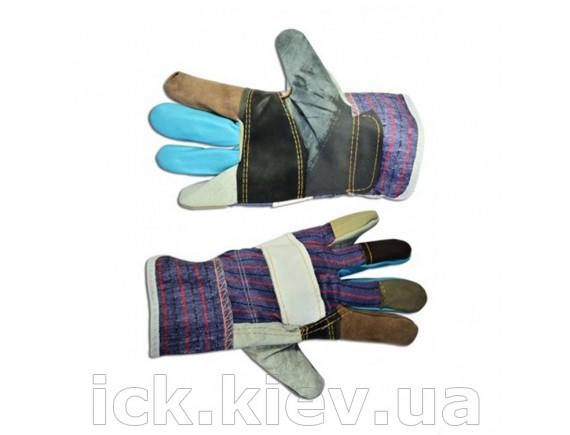 Перчатки кожаные утолщенные L Technics
