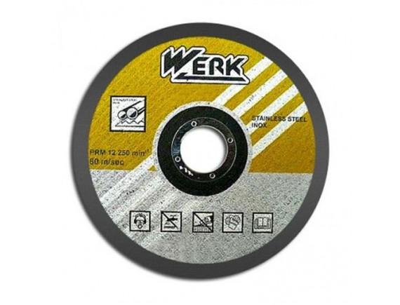 Диск по металлу WERK 125 х 1,0 х 22 мм
