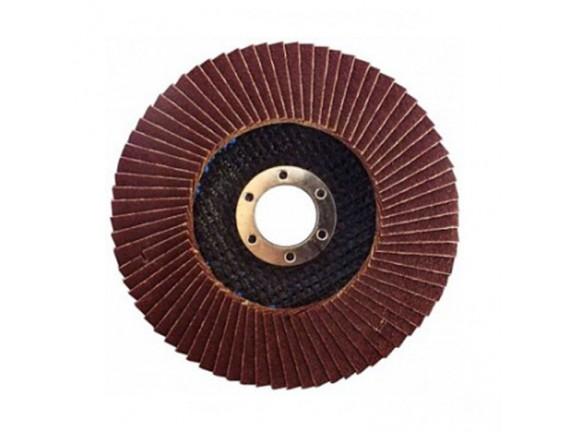 Диск лепестковый плоский Werk зерно А40 125х22,2 мм