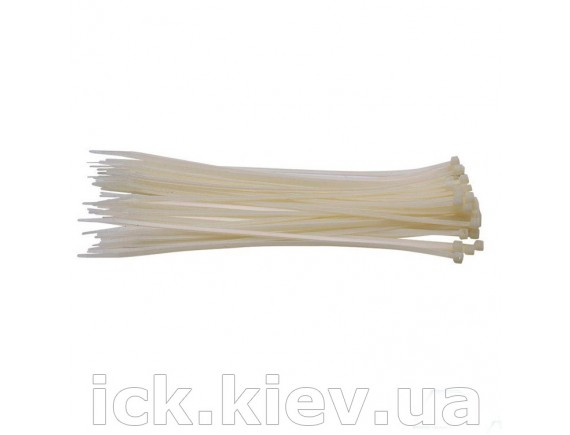 Ремешки затяжные белые 4,8х500 мм 50 шт