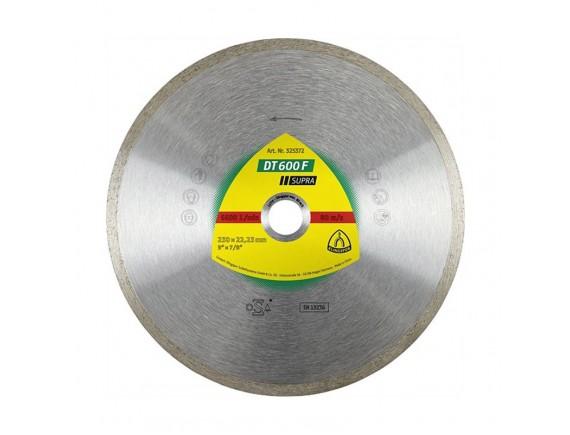 Диск алмазный по плитке Klingspor DT600F Supra 115х1,6х22,23 мм