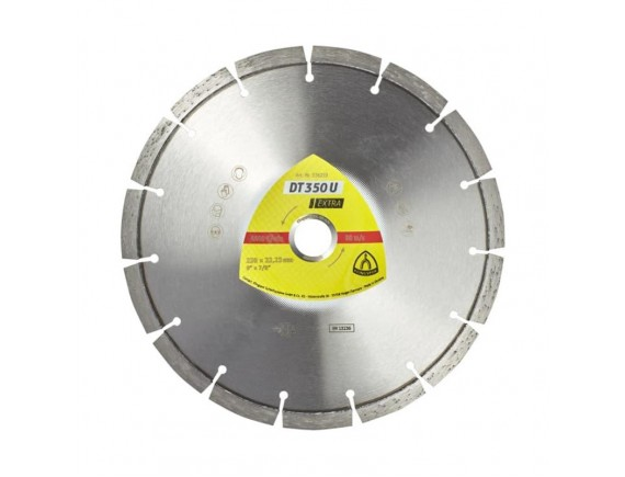 Диск алмазный по бетону Klingspor DT 350 U 125х2,4х22,23 мм