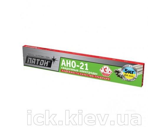 Электроды Патон АНО-21 4/5 кг