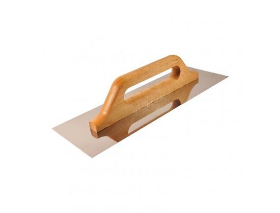 Гладилка швейцарская белая, деревянная ручка 43х58х13 см