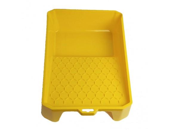 Ванночка малярная, пластиковая 4 Hardy 35x26 см желтая