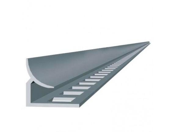 Уголок внутренний для плитки 6 мм