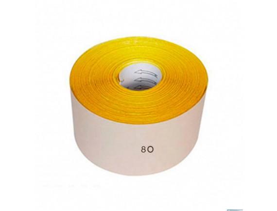 Наждачная бумага на бумажной основе 115 мм х 5 м зерно 80