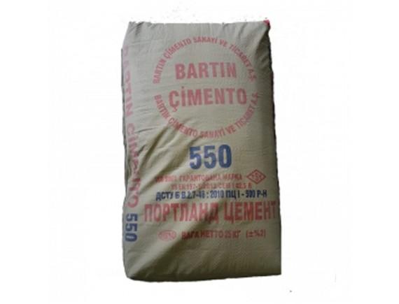 Портландцемент марки CЕМ 42.5 R Bartin