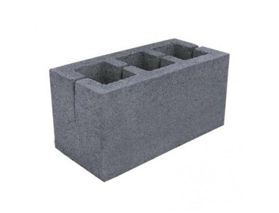 Блок строительный 120х190х390