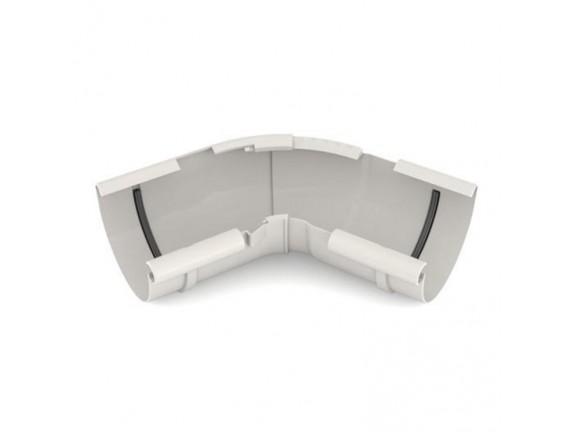 Угол внутренний регулируемый Bryza белый 120-145 градусов, 125 мм