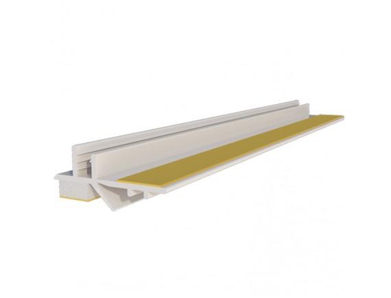 Профиль приоконный пвх 3 мм, 2.5 м