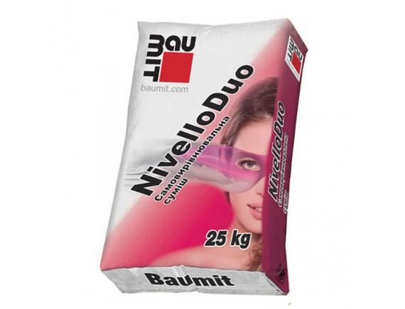 Самовыравнивающая смесь Баумит Нивелло Дуо 25 кг