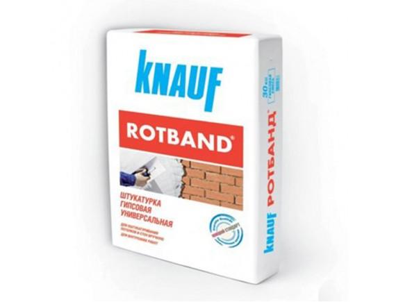 Штукатурка гипсовая Knauf ROTBAND 15 кг