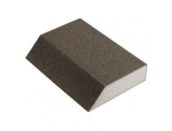 Шлифовальная губка угловая Klingspor 125х89х25 мм зерно 100