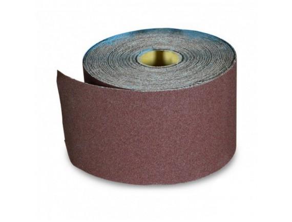 Наждачная бумага на тканевой основе, водостойкая, 200 ммх10 м, зерно 120