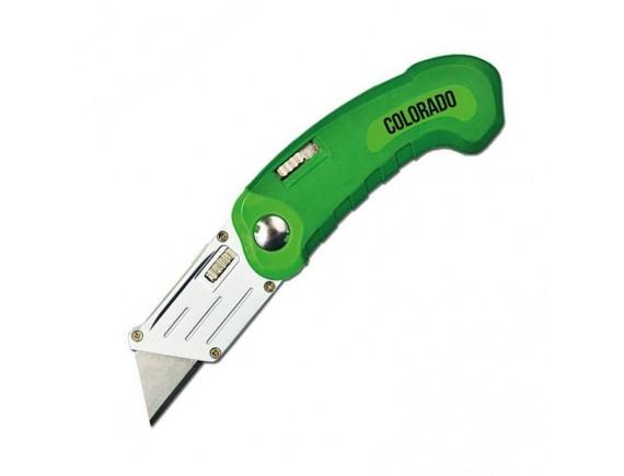 Нож складной универсальный Colorado 5 лезвий трапеция