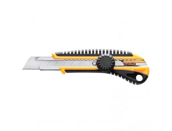 Нож универсальный 18 мм ручка 2К Hardy