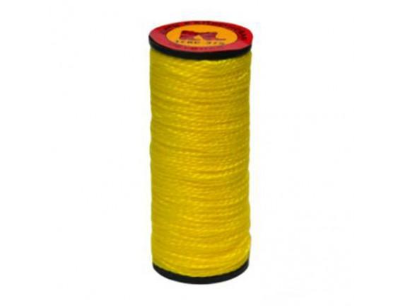 Нитка капроновая желтая, 10 шт, 375 текс
