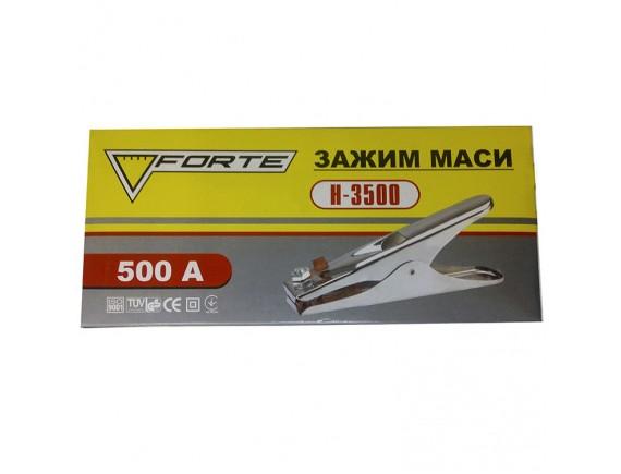 Зажим массы FORTE H-3500, 500 ампер