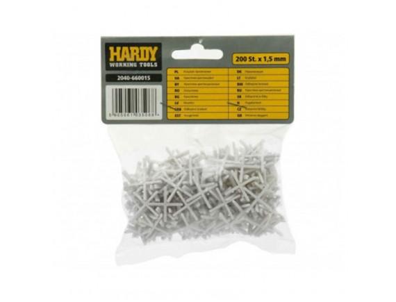 Крестики для плитки Хардекс 1,5 мм, 200 шт