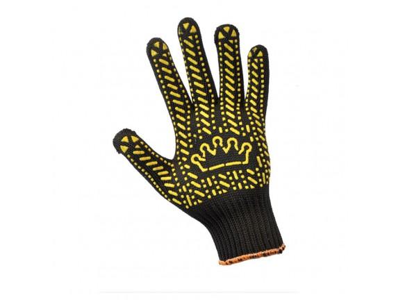 Перчатки трикотажные черные