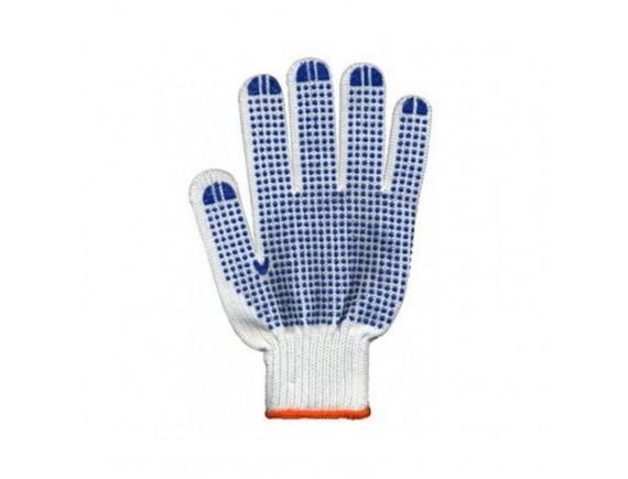Перчатки трикотажные белый цвет ХБ