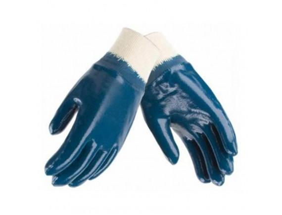 Перчатки WERK с нитриловым покрытием, щелочные