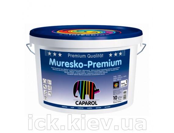 Краска фасадная на основе Caparol SilaCryl Muresko-Premium 9.4 л Base 3 прозрачная