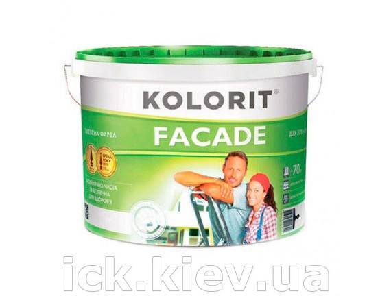 Фарба фасадна латексна Колорит Фасад ЕКО 10 л