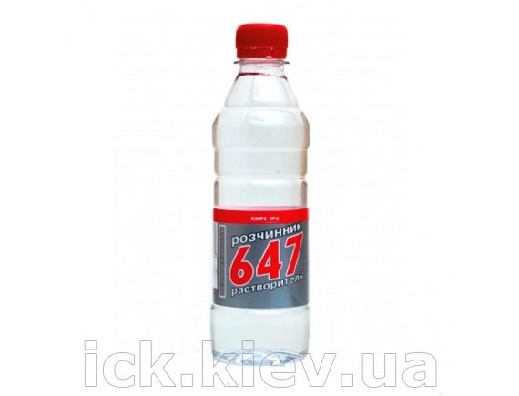 Растворитель Химрезерв 647 ПЕТ 0.8 л