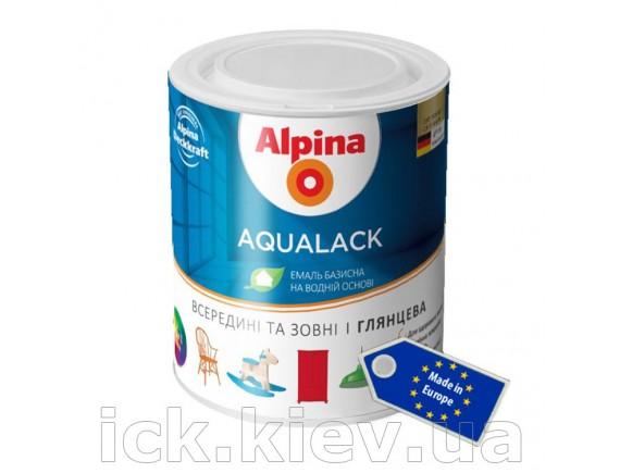 Эмаль Alpina Aqualack EXL 0.75 л