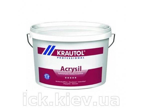 Краска фасадная усиленная силоксаном Krautol Acrysil В3 9,4 л