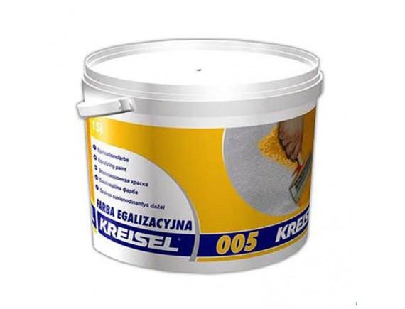 Краска фасадная силиконовая Kreisel FARBA EGALIZACYJNA 005 15 л База А