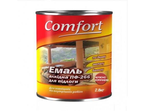Эмаль Пф-226 комфорт красно-коричневый 2.8 кг