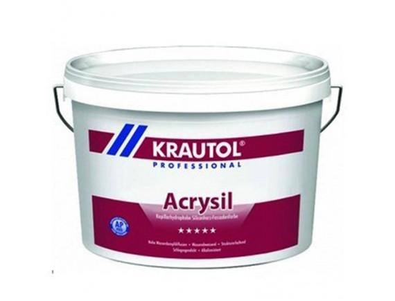 Cиликат силиконовая краска Krautherm SiSi Fassaden Farbe Base 1, 10 л