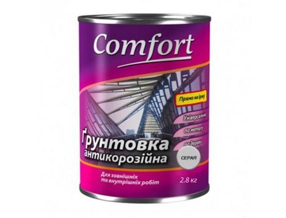 Грунт ГФ-021 Комфорт серый 0.9 кг