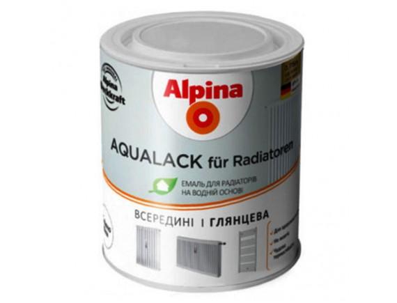 Емаль на водной основе для радиаторов Alpina 0,75