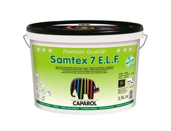 Краска латексная Caparol Samtex 7 E.L.F. 10 л интерьерная B1-белая