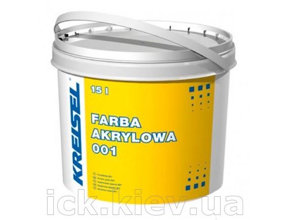 Краска акриловая фасадная Kreisel Acrylfarbe 001 15 л база А-белая