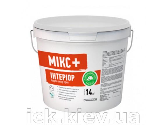 Вододисперсионная краска Микс+ Интериор 14 кг