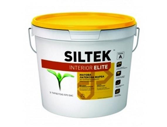 Краска латексная Siltek Interior Elite База A 9 л