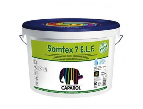 Краска латексная Caparol Samtex 7 Вase 3