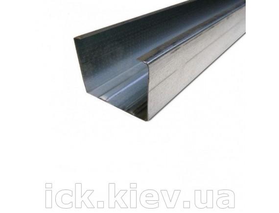Профиль для гипсокартона Интерпрофиль CW 50x50 4 м 0.55 мм