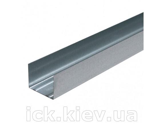 Профиль для гипсокартона Интерпрофиль UW 50x40 3 м 0.40 мм