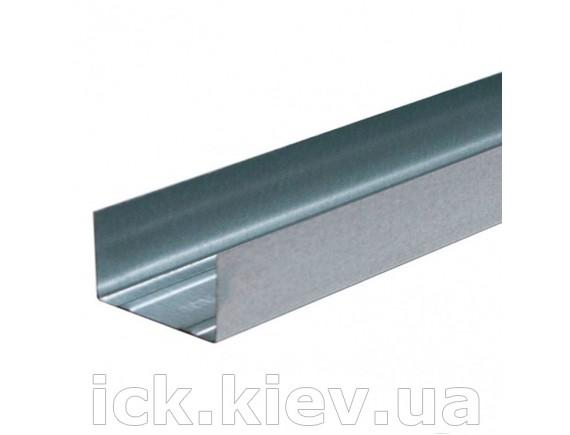 Профиль для гипсокартона Интерпрофиль UW 100x40 4 м 0.40 мм