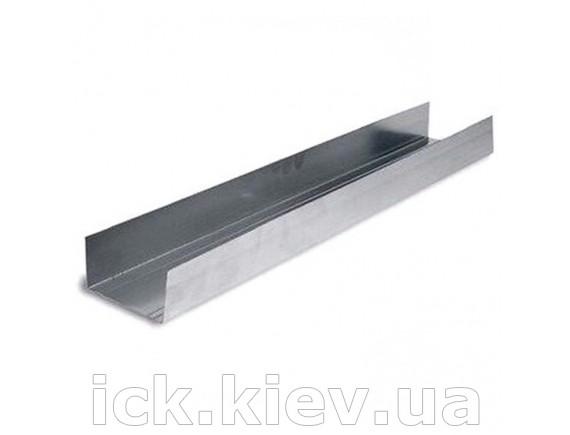 Профиль Knauf UW 100х40х0.6 мм - 3.00 м