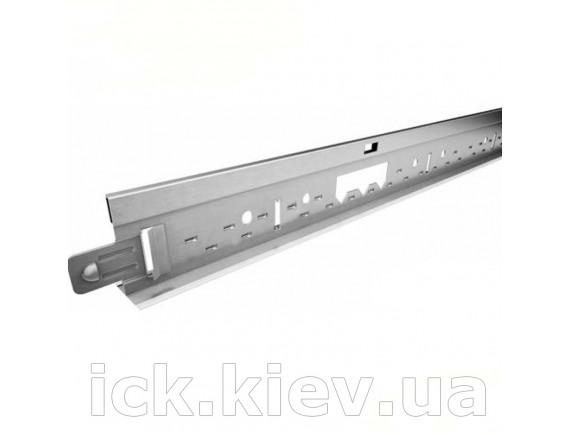 Профиль направляющий Kraft Fortis Т-24 38x24 мм 3.6 m (RAL 9003)