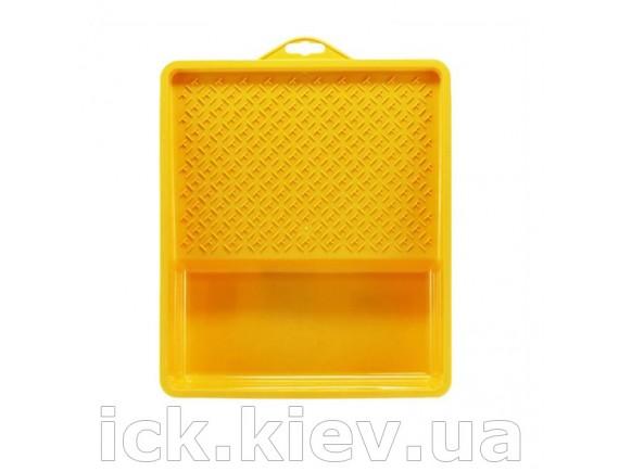 Ванночка малярная, пластиковая Hardy 30х16 см желтая