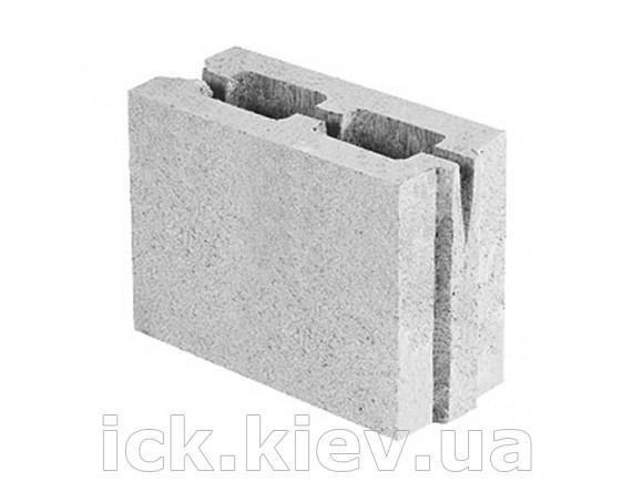 Блок керамзитобетонный перегородочный 250х110х200