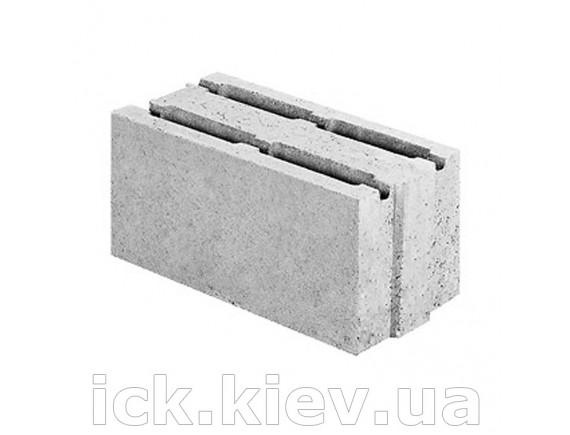 Блок бетонный перегородочный 390x190x188
